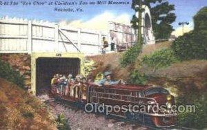Zoo Choo, Mill Mountain, Roanoke, VA, USA Train, Unused