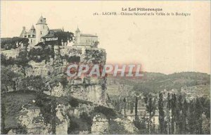 Old Postcard Lot Picturesque Lacave Chateau Belcastel and the Valley of the D...