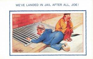 Postcard We've Landed In Jail After All Joe