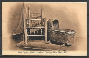 Massachusetts, Plymouth - Brewster Chair - Cradle Peregine White - [MA-417]