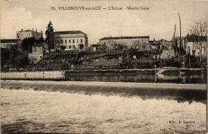 CPA Villeneuve sur Lot L'Ecluse, Moulin Gajac (686382)
