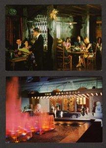 Lot 2 Peninsula Hotel Hong Kong Postcards China Carte Postales