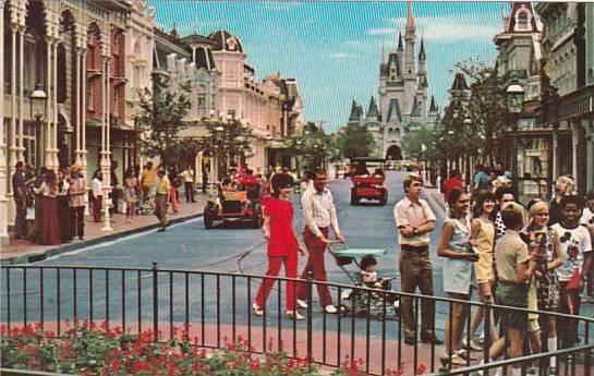 Florida Orlando Walt Disney World Main Street U S A