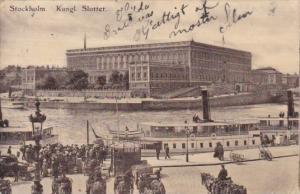 Sweden Stockholm Kungl Slottet 1909