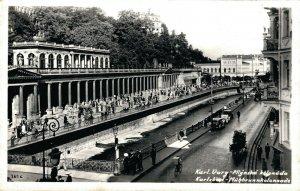 Czech Republic Karlsbad Mühlbrunn Kolonnade 03.84