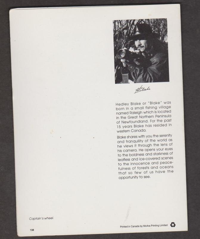 Folded Greeting Card - Captain's Wheel - Photo By Hedley Blake - Unused