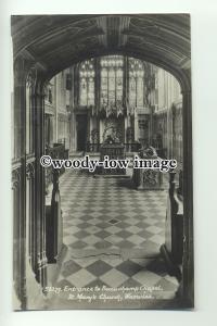cu1907 - Beauchamp Chapel, St.Mary's Church, in Warwick - Postcard