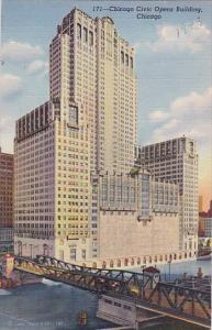 Illinois Chicago Civic Opera Building 1942