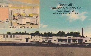 Pennsylvania Greenville The Greenville Lumber & Supply Company sk5634