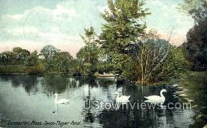 Swan-Thayer Pond - Lancaster, Massachusetts MA