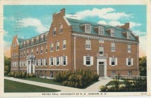 DURHAM , New Hampshire, 1936 ; Hetzil Hall , University of N.H.