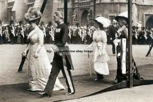 mm840 - Queen Mary and Princess Mary - Royalty photo 6x4