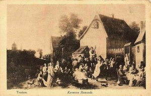 Teniers Kermesse Flamande Postcard
