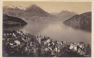 RP;  Aerial View, Vitznau, Lucerne, Switzerland, 10-20s