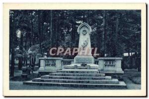 Postcard Old National Institute of Agronomy colonial Indochinese Army Monument