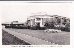 RP: EDMONTON, Alberta, Canada, 1930-50s; Canadian National Railways Station