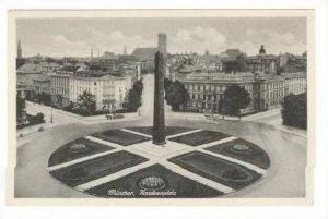 Karolinenplatz, München (Bavaria), Germany, 1900-1910s