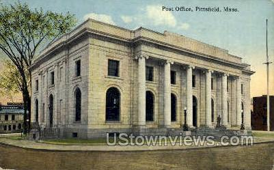 Post Office Pittsfield MA 1915