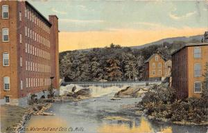 Massachusetts  Ware  Waterfall and Otis Co. Mills