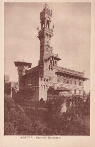 GENOVA, Liguria, Italy, 1910-20s; Castello Mackenzie
