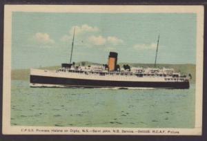 Steamer CPSS Princess Helene  Postcard 4721