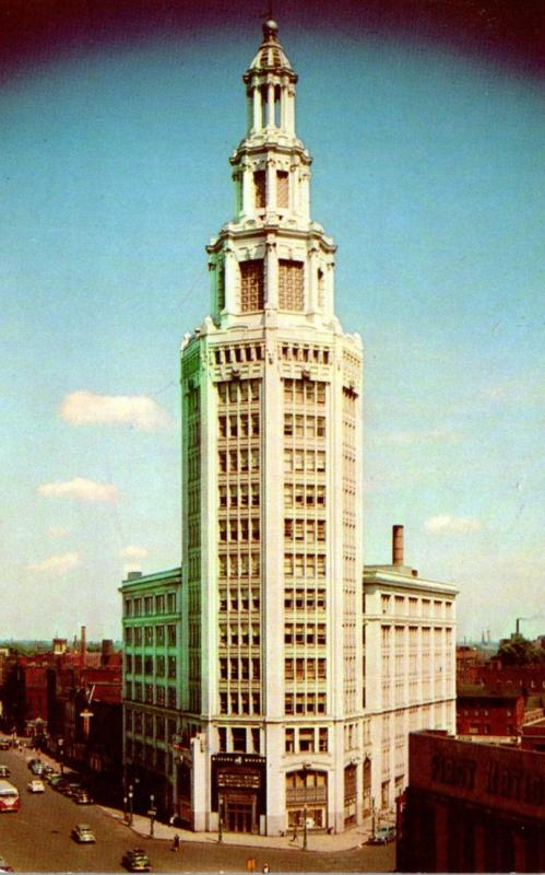 New York Buffalo The Electric Building 1953