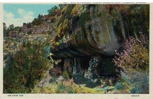 Postcard Walnut Canyon Scenic Wonders Northern Arizona Cliff Dwellings Flagstaff