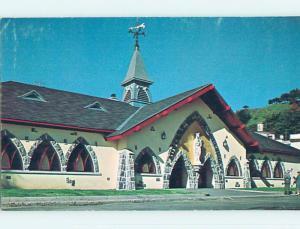 Pre-1980 TOWN VIEW SCENE Ste-Anne De Beaupre Quebec QC p9728