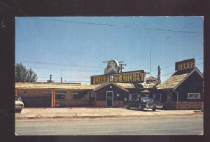 WINSLOW ARIZONA ROUTE 66 GABRIELLE'S KITCHEN RESTAURANT ADVERTISING POSTCARD