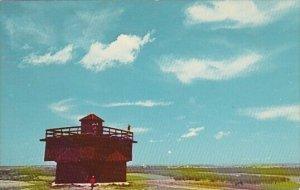Fort Lincoln State Park Mandan North Dakota