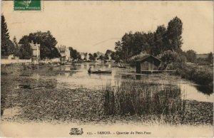 CPA Samois Quartier FRANCE (1101208)
