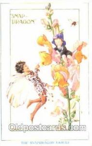 Artist Margaret W. Tarrant, Gnomes, Elves, Postcard Post Card