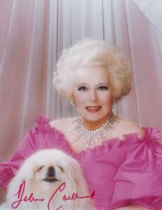Barbara Cartland Hand Signed Photo