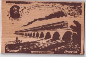 Wooden - The Railroad that Went to Sea - Key West FL