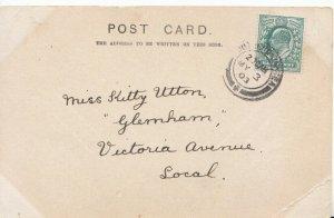 Genealogy Postcard - Utton - Glernham - Victoria Avenue - Local  - Ref 4669A