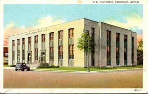 Kansas Hutchinson Post Office Curteich
