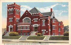 St. Luke's evangelical church Louisville KY