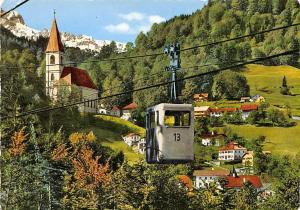 Salzbergbahn mit Duerrnberg bei Hallein Cable Car Church Eglise