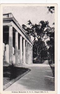 Graham Memorial , U.N.C. , Chapel Hill , North Carolina , 1930s