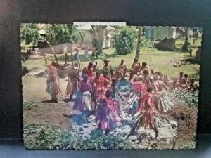 Postcard Fijian Firewalking in Fiji.    Z3