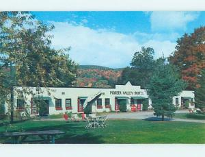 Unused Pre-1980 PIONEER VALLEY MOTEL Bernardston Massachusetts MA n9449