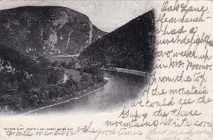 Winona Cliff South Delaware Water Gap Philadelphia Pennylvania 1906