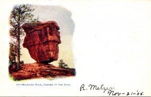 Colorado Garden Of The Gods Balanced Rock