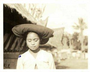 indonesia, SUMATRA, Beautiful Young Karo Batak Girl (1930s) Real Photo