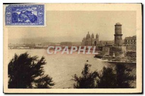 Old Postcard The Cathedral Marseille Fort St John