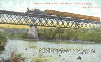 Chicago and northwestern, Janesville, WI USA Train, Trains, Locomotive, Old V...