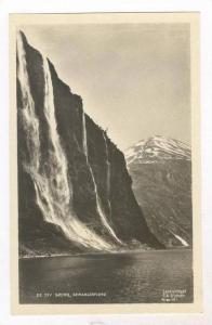 RP: Norge / Norway, De Syv Sostre, Geirangerfjord 1910-30s