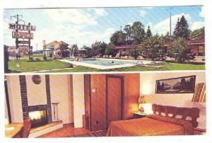 Motel St-Moritz , Ste-Agathe Sud , Quebec , Canada , 1984