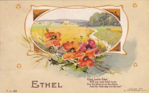 Firstname ; ETHEL , PU-1910