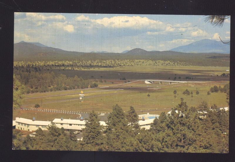 WILLIAMS ARIZONA ROUTE 66 PONDEROSA INN MOTEL VINTAGE ADVERTISING POSTCARD
